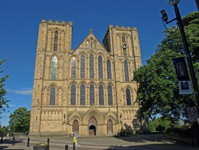 Ripon has long been an important religious centre due to its cathedral. Picture credit wfmiller wikipedia creative commons.