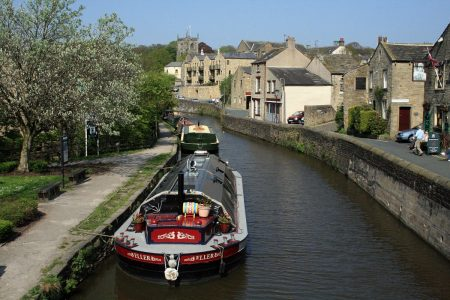 The Leeds Liverpool Canal runs straight through the centre of Skipton. Picture credit: Ian McKillop (IFY community)