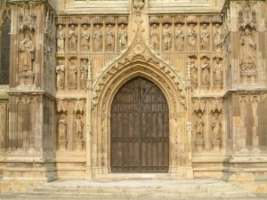 Starting point the doors of beverley minster