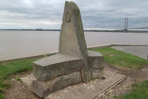 The beginning of the wold way hessle foreshore