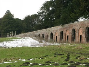 The deer sheds and king's steps are the only features left of the original londesborough hall