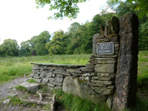 The end of a long 81 mile uphill path to bowness on windermere source flickr
