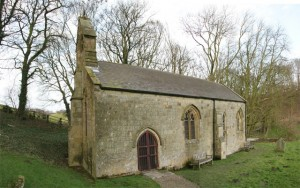 The tiny but lovely st ethelburga's church at givendale
