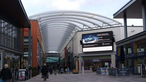 Trinity Walk is the latest addition to Wakefield city centre. Picture credit: rtaylor848 wikipedia creative commons