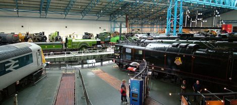 Exhibits at the York Railway museum. Picture credit: Chrsi McKenna wikipedia GNU Document licence.