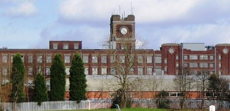 The now derelict Terry's factory in York is a symbol of the city's chocolate heritage. Picture credit: wikipedia public domain.