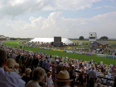 Horse-racing is the principal sport int he town, Picture credit: Charles Rispin geograph creative commons .