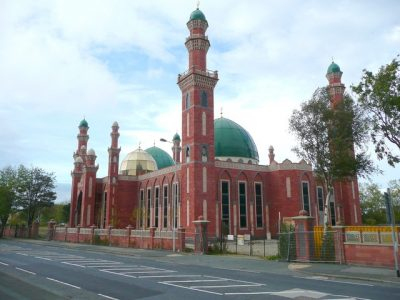 A mosque on Horton Park Road. Picture credit: Humphrey Bolton geograph wikipedia creative commons.