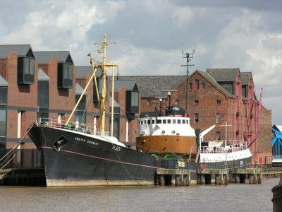 The Arctic Corsair is a remaining symbol of Hull's maritime prowess. Picture credit: George Robinson wikipedia creative commons.