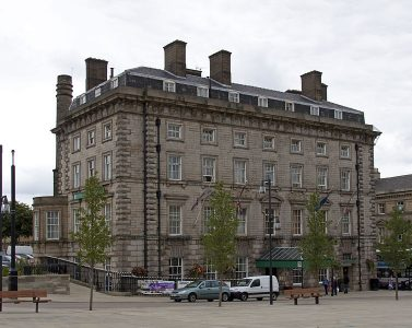 The George Hotel in Huddersfield is famous for a meeting which took place here in 1895 Picture credit: Tony Hisgett.