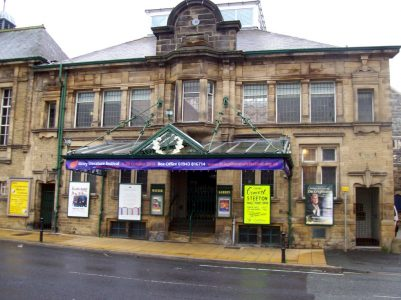 Ilkley Winter Gardens host the highly renowned Literature festival. Picture credit: summonedbyfells flickr wikipedia creative commons.