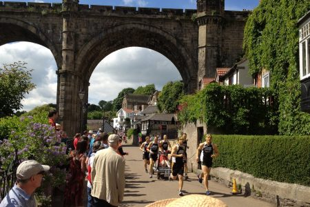 The Knaresborough Bed Race in 2013. Picture credit: Terry Madeley flicr wikipedia creative commons