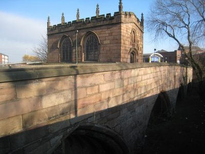 The Chapel on the bridge in Rotherham is one of the town's oldest features. Picture credit: Jonathan Thacker geograph wikipedia creaative commons.