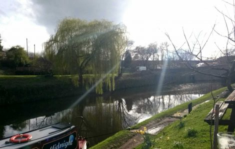River in Horbury, used for Canal boats, Photo Credit Conor Ives, (IFY Community)
