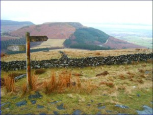 Urra Moor is the highest and remotest part of the Cleveland Way.