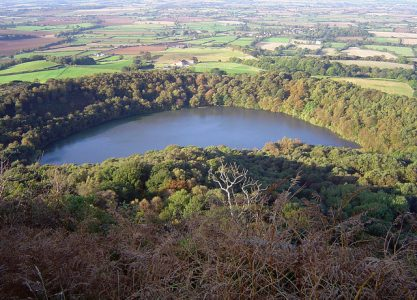 The mysterious Gormire Lake near Sutton Bank, Photo credit, Scott Rimmer, Wikimedia, Creative Commons