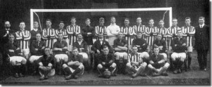 The Leeds City squad photo 1911-12 season