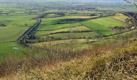 View from Sutton Bank. Photo credit, Paulie E, Geograph, Creative Commons