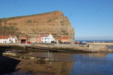 Boulby Cliff is the highest on the East Coast