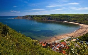 The magnificent Runswick Bay