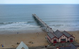 Saltburn is the first coastal place on the Cleveland Way if you start at Helmsley.