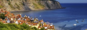 The iconic Robin Hood's Bay.
