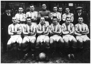 The Leeds team of 1930 which finished 5th under manager Dick Ray