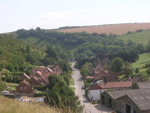 The picturesque village of Thixendale