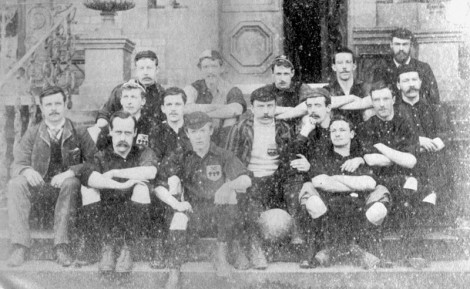 The original amateurs Sheffield FC in 1890. Source: Wikipedia Creative commons public domain