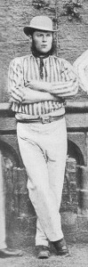 Roger Iddison was the first ever Yorkshire captain in 1863. Source: creative commons wikipedia