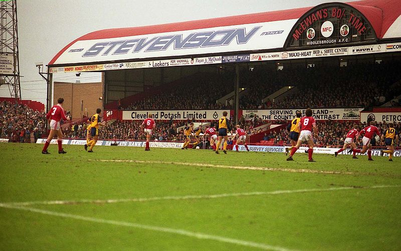 lost sport stad ayresome park