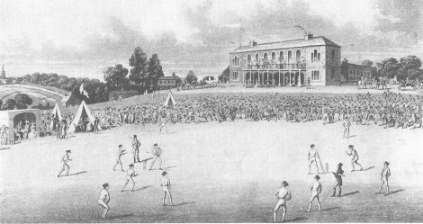 Some of the earliest cricket matches in Yorkshire took place in Darnall, Sheffield. Source: wikipedia, creative commons.