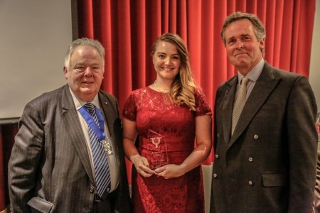 Leeds Opera singer, Beth Moxon sang her way to the Arts & Culture prize. Picture credit: Alex Naylor.