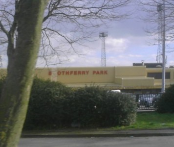 Boothferry Park took 17 years to complete between 1929 to 1946. Picture credit: Roosterrulez wikipedia creative commons