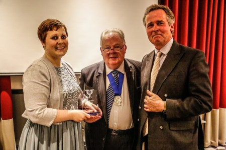 Hello my name is Dr Kate Granger won the Best Charity award. Picture Credit: Alex Naylor