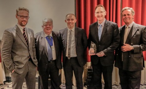 Keepmoat PLC picked up the Best Regeneration Award. Picture Credit: Alex Naylor.