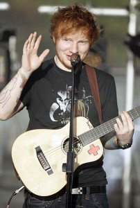 Ed Sheeran was born in Hebden Bridge, despite finding his fortune in London. Picture credit: Eva Rinaldi wikipedia creative commons