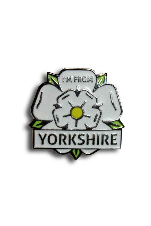 I'm From Yorkshire pin badge