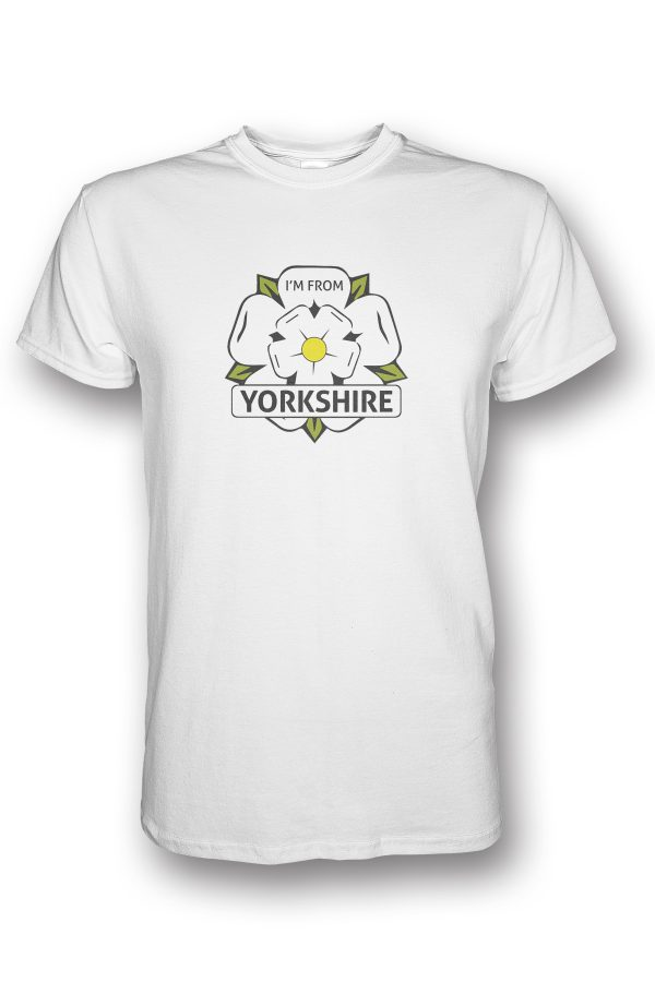 I'm From Yorkshire Logo T-Shirt