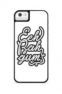 Eeh bah gum black Phone case