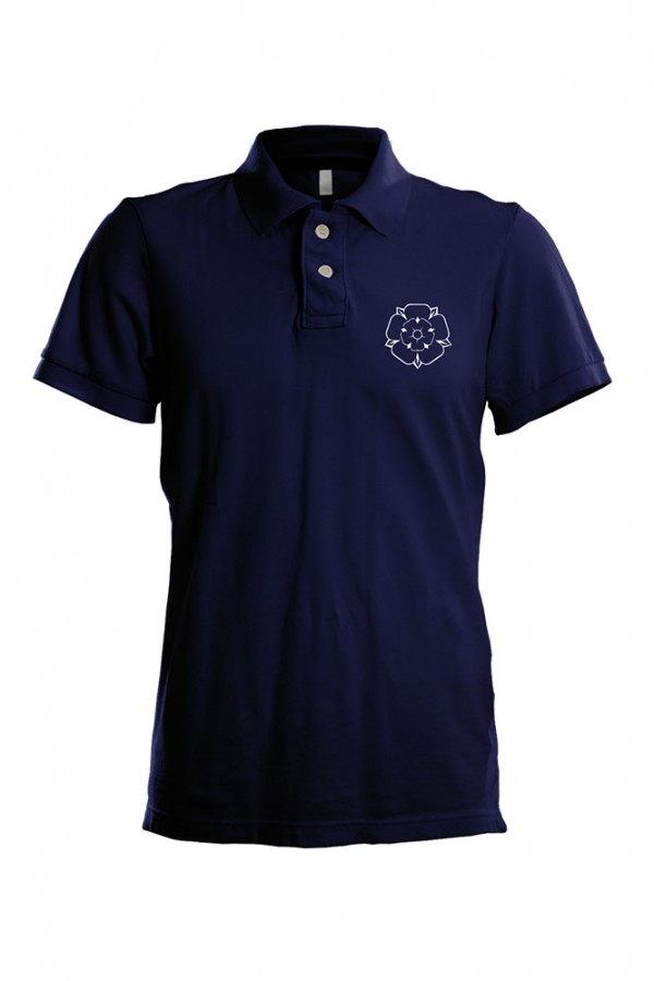 Yorkshire Rose polo shirt