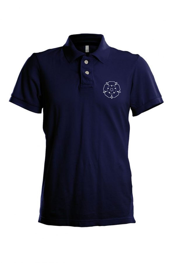 Yorkshire Rose polo shirt