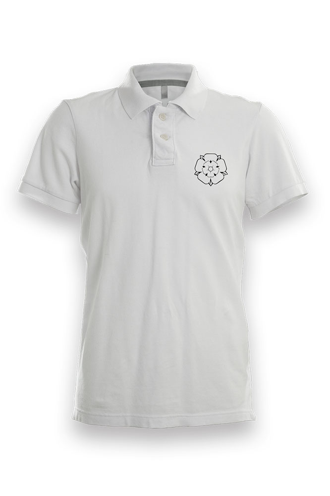 35f2fa85 Simple Yorkshire Rose Polo Shirt - I'm From Yorkshire