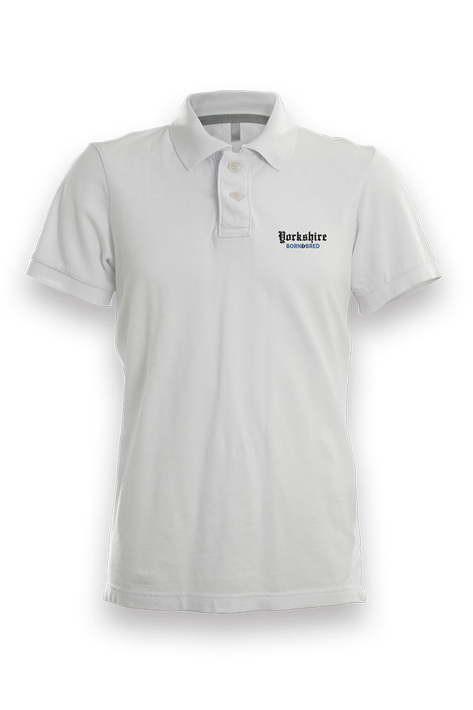 19a0b4599756 Yorkshire Born & Bred' Unisex Polo Shirt - I'm From Yorkshire