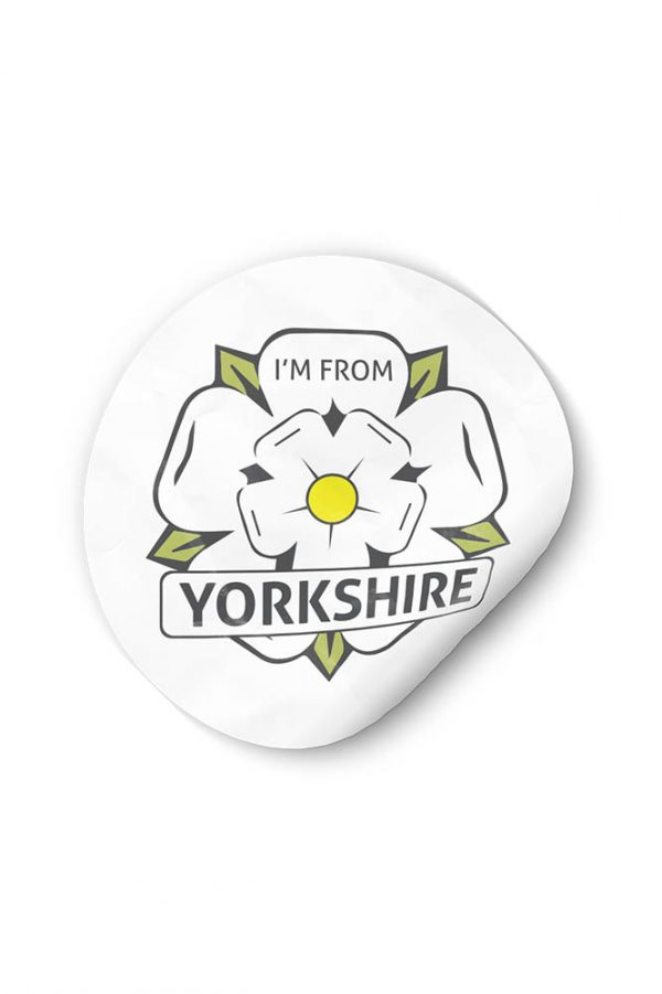 I'm From Yorkshire sticker