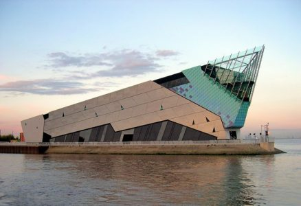 The Deep in Hull was part-funded by the EU. Picture credit: Phillip Pankhurst geograph wikipedia creative commons