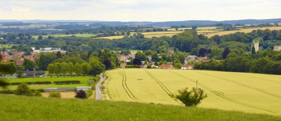 The beautiful town of Helmsley