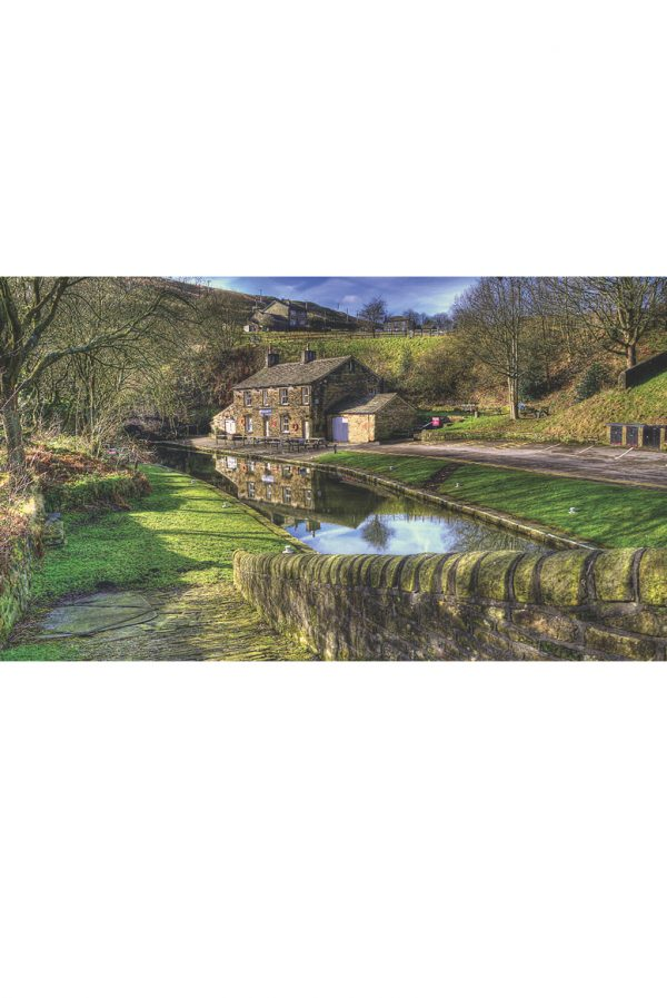 Tunnel End on Huddersfield Narrow Canal