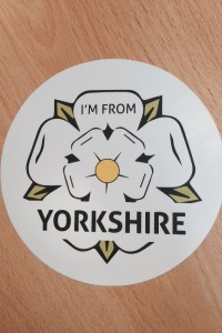 Yorkshire car sticker