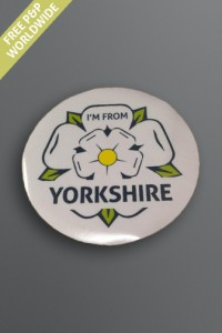 Yorkshire Rose window sticker